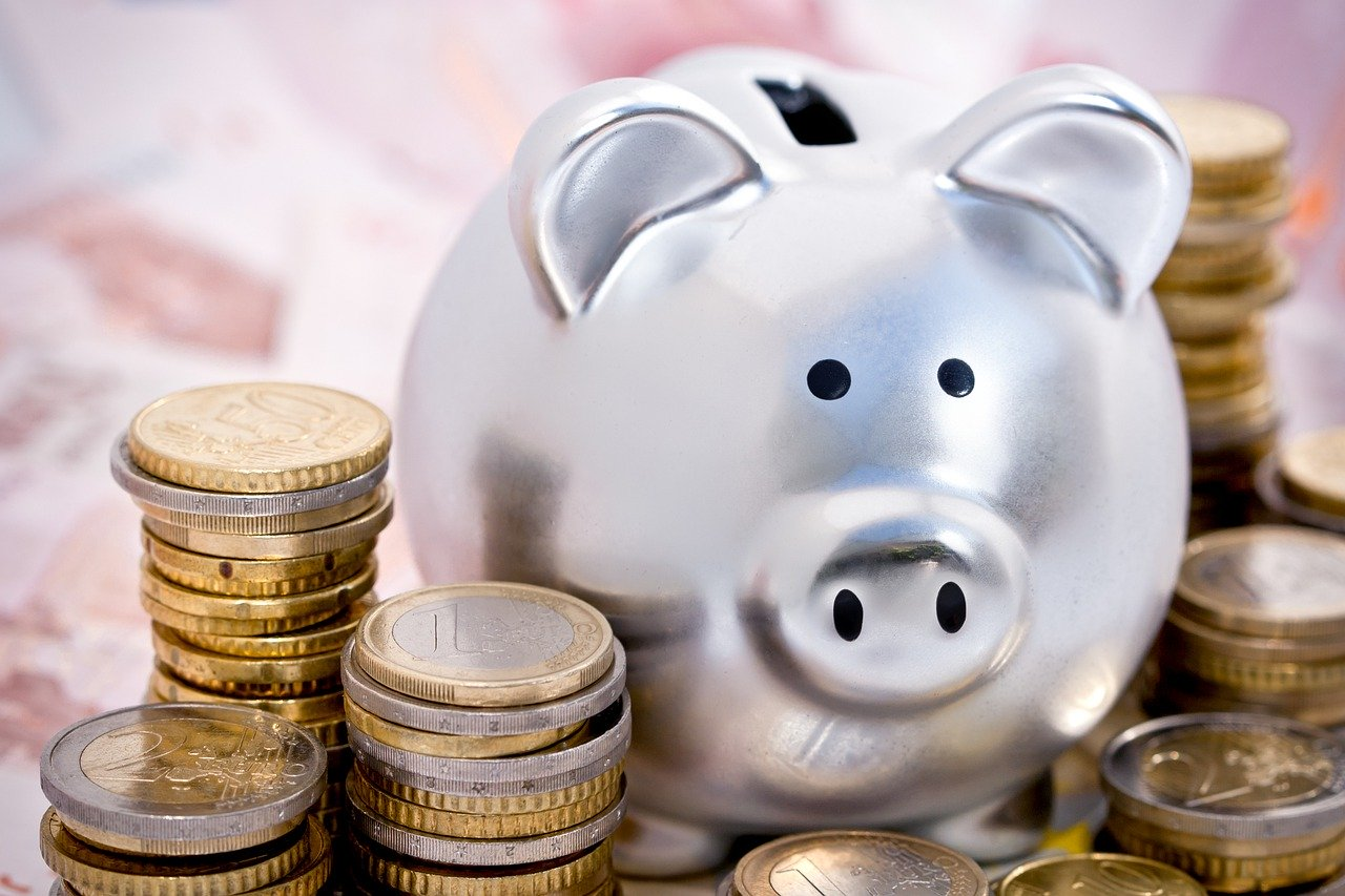 Piggy Bank Pig Currency Economy
